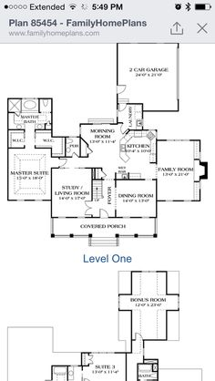 Second Floor Plan Of Colonial Farmhouse Southern Victorian House