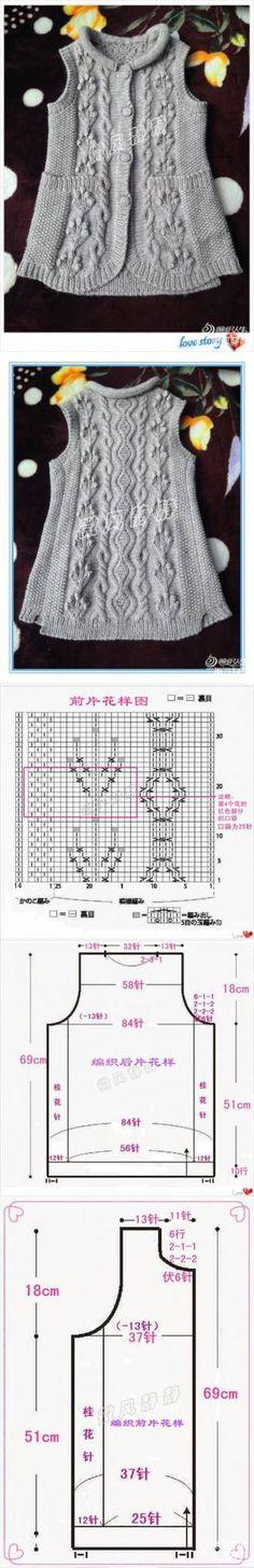 699 mejores imágenes de Tejido de punto | Crochet patterns, Knits y ...
