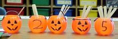 Math Pumpkin preschool/kindergarten