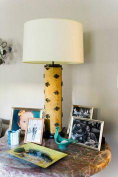 Love this lamp   theglitterguide.com