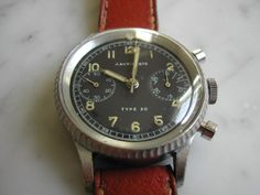 Rare+J+Auricoste+Type+20+French+military+issue+pilots+chronograph,+dated+1954