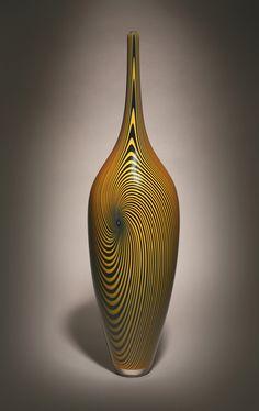 Hermann Lunn Blown Glass (Vessels by Michael Hermann)
