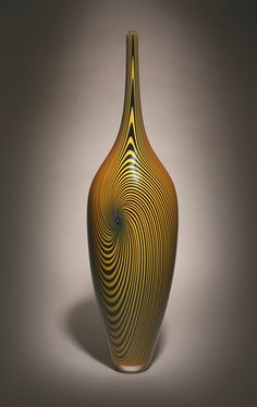 Hermann Lunn Blown Glass (Vessels by Michael Hermann)