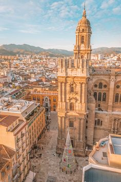 15 Best Things To Do In Malaga, Spain A lot of visitors to this part of Spain will fly into Malaga Airport without ever actually visiting the city (e. on their way to Granada), however, some Spain Travel Guide, Travel Tips For Europe, Europe Destinations, Holiday Destinations, Cadaques Spain, Malaga City, Malaga Airport, Seville Spain, Granada Spain