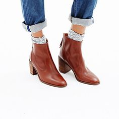 Brown Leather Ankle Boots http://rstyle.me/n/tx2sw4ni6