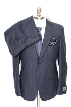 Men's BELVEST Gray Melange Super 130's Wool 2Btn Flat Front Suit!  |  Find yours! http://www.frieschskys.com/suits  |  #frieschskys #mensfashion #fashion #mensstyle #style #moda #menswear #dapper #stylish #MadeInItaly #Italy #couture #highfashion #designer #shopping