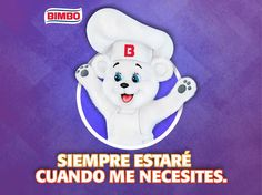 ¿Quieres un abrazo de Osito Bimbo?