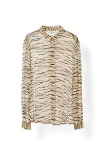 Whitman Chiffon Shirt, Cuban Sand