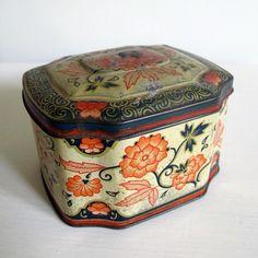 Vintage Tea Tins | vintage tea tin