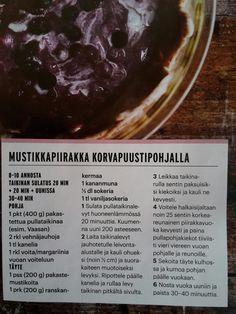 Mustikkapiirakka korvapuustipohja mustikka piiras leivonta piirakka