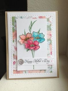 Fabulous Florets Mother's Day by Heather Beck - Cards and Paper Crafts at Splitcoaststampers