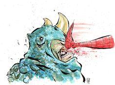 Skottie Young – Rhino Comic Art
