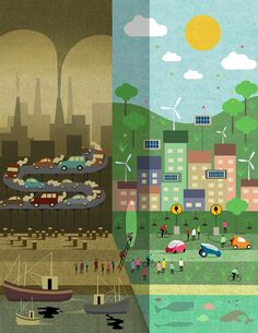 We can build a sustainable world – if you want it - environment New Scientist image: Adam Simpson Save Water Drawing, Save Earth Drawing, Air Pollution Poster, Peace Poster, Propaganda Art, Save Our Earth, New Scientist, World Environment Day, Poster Drawing