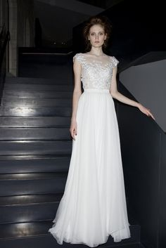 SO DREAMY!!! Click on the link to see the back of the dress-my favorite part.