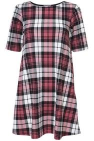 Apricot Pink Tartan Check Print Shift Dress http://www.apricotonline.co.uk/mall/productpage.cfm/womensclothing/_5051839152458/461704/Pink-Tartan-Check-Print-Shift-Dress