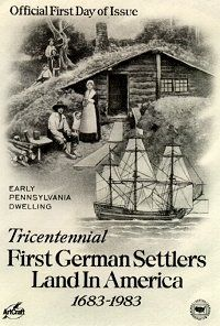 German American Corner: First German Settlers Land in America