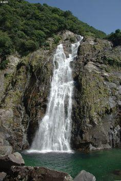 Silver Discoverer destination: Oko Falls, Japan.