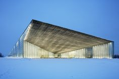 Estonian National Museum / DGT Architects (Dorell.Ghotmeh.Tane). Photograph by Takuji Shimmura
