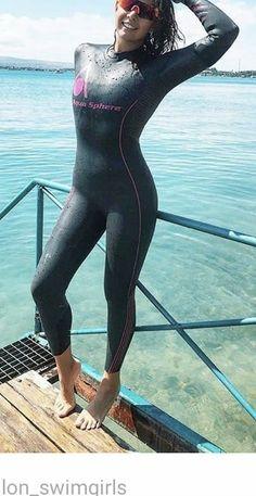 Second Skin, Triathlon, Diving, Wetsuit, Sporty, Girls, Swimwear, Pants, Style