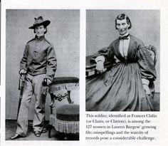 women who fought as men in the civil war