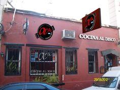Montaje digital de cartelería corporea para Ara Cocina al disco