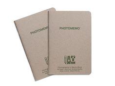 PhotoMemo Photographer's Memo Book 2pk