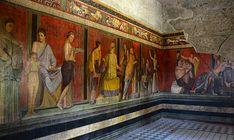 Ancient Pompeii, Pompeii And Herculaneum, Art Romain, Villa, Roman Art, Naples Italy, Ancient Civilizations, Archaeology, Art Lessons