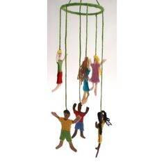 Multi-Cultural People Mobile | Multi-Cultural Dolls | Go Fair Trading