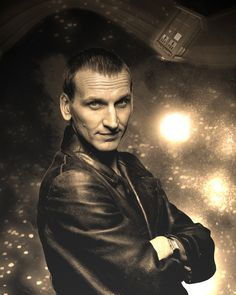 Christopher Eccleston Doctor Who Geekograph Limited Edition Metal Art. $25.00, via Etsy.