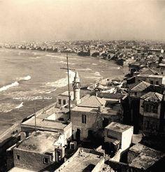 حي المنشية، يافا، فلسطين ١٩٣٠ Manshia neighborhood, Jaffa, Palestine in 1930 Barrio de la Manshia, Jaffa, Palestina en 1930