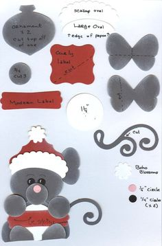 Image detail for -... cute idea and all the punches are from my friend Teri at STAMPIN' UP