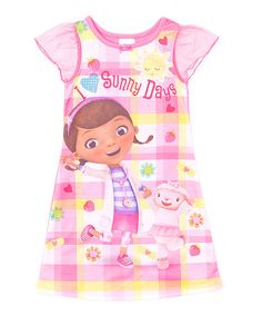 Another great find on #zulily! Doc McStuffins 'Sunny Days' Nightgown - Toddler by Doc McStuffins #zulilyfinds