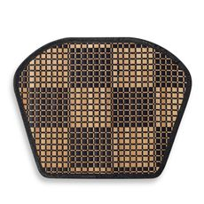 Bamboo Black Checkered Wedge Placemat - Bed Bath & Beyond