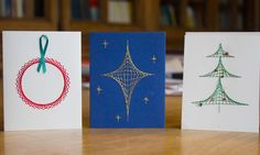 Solving for Xmas: how to make mathematical Christmas cards. String theory: a bauble, a star and a Christmas tree. Fun for students to make during the holiday's. Christmas Cards To Make, Christmas Holidays, Xmas, Christmas Tree, Christmas Stuff, Happy Holidays, Christmas Decor, Christmas Ideas, Holiday Decor