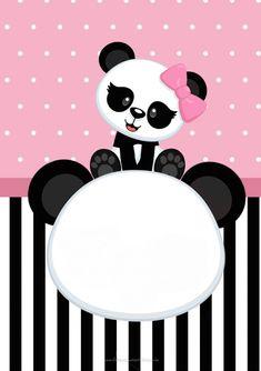 Baby Shower Invitaciones Moldes Fiestas 51 Ideas For 2019 - Oso panda - Baby Panda Birthday Party, Panda Party, Panda Baby Showers, Elephant Baby Showers, Babyshower Games For Girls, Panda Decorations, Panda Bebe, Cute Panda Wallpaper, Free Baby Shower Printables
