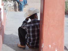 Masiaca cowboy in the shade