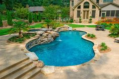 20 Romantic Residential Pools for Private Relaxation | Home Design Lover