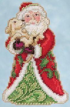 JS205106 Best Friend Santa (2015) - Mary Janes Cross and Stitch
