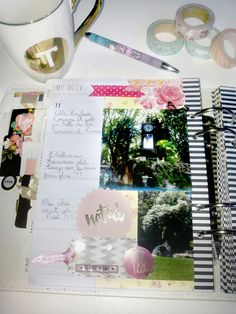 scrappinplanner: scrappin'planner girls: Tiziana Biagioli