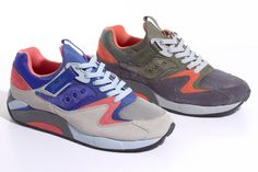 Saucony & Packer GRID 9000 Trail Pack ... The Saucony GRID 9000 model seemed to get a reissue ...