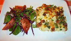 Cooking with love ! : CONOPIDA ALLA CARBONARA -DUKAN (BAKED CAULIFLOWER ALLA CARBONARA -DUKAN) Dukan Diet Recipes, Baked Cauliflower, Baked Potato, Potatoes, Baking, Ethnic Recipes, Food, Potato, Bakken