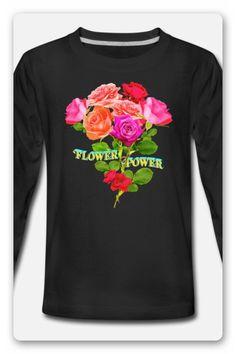 Flower Power Shirt | Blumenstrauß  Shirt mit dem Text Flower Power, im Hintergrund ein Blumenstrauß. DER KLIMAWANDEL IST REALITÄT. WIR MÜSSEN DIE ERDERWÄRMUNG SENKEN, UM DEN KLIMAWANDEL ZU STOPPEN. Flower Power, Graphic Sweatshirt, Sweatshirts, Long Sleeve, Sleeves, Sweaters, Mens Tops, Fashion, Environmentalism