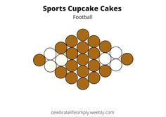 Don't forget the cake. or a pull-apart cupcake cake. Cupcake Template, Cake Templates, Pull Apart Cupcake Cake, Pull Apart Cake, Cupcake Cake Designs, Cupcake Ideas, Cupcake Recipes, Baking Cupcakes, Cupcake Cookies