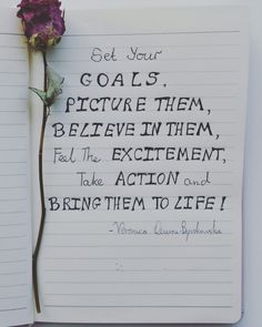 on the blog : 5 ways to turn goals into results