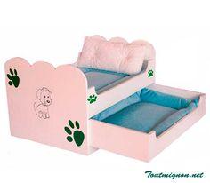 Litera para perros. Accesorios para  mascotas. Cama para perros. www.toutmignon.net