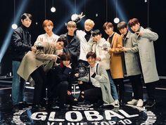Wanna One - Global VLIVE top 10 #wannaone