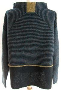 Kina Jakke Fair Isle Knitting Patterns, Knitting Designs, Knit Patterns, Baby Knitting, Knitting Stitches, Plus Sise, Knitted Coat, How To Purl Knit, Knit Fashion