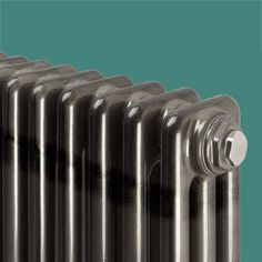A vertical column radiator with an industrial finish, the Core is stocked in bare metal but with a clear top coat offering a classic design in narrow space. Curved Radiators, Electric Radiators, Column Radiators, Column Design, Designer Radiator, British Standards, High Walls, Traditional Interior, Water Treatment