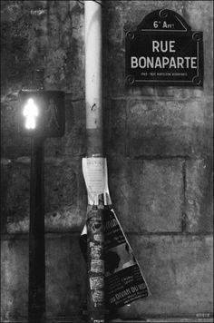 La rue Bonaparte   (Paris 6ème)