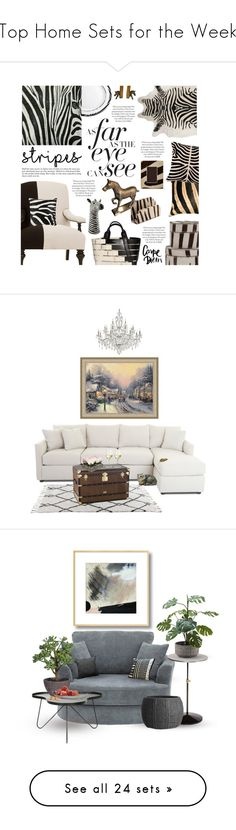 """""""Top Home Sets for the Week"""" by polyvore ❤ liked on Polyvore featuring interior, interiors, interior design, home, home decor, interior decorating, Amara, Jayson Home, Eichholtz and Mikasa"""